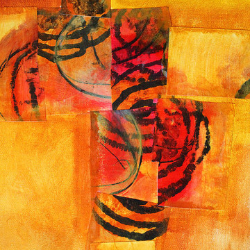 Abstractions in Orange Collection