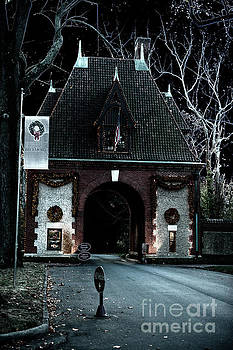 Dale Powell - Spooky Biltmore Main Gate Entrance
