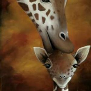 Giraffes And Tigers and Bears Oh My PAINTINGS ONLY Art Competition